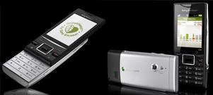 Elm och Hazel - miljömobiler från Sony Ericsson