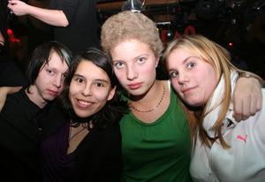 Konrad. Ronny, Francy, Sandra och Jonna