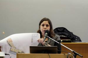 Miljöpartiet vill att en extern utredare av de kommunala besluten runt Medskog förklarar Andrea Bromhed (MP).