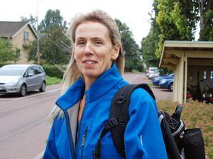 Intensiv vecka för hälsosamordnare Catharina Andersson.