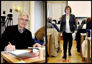 10 till 16 oktober: Elisabet Strömqvist och Anders L Johansson lämnar sina poster inom landstinget.