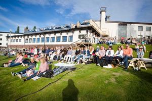 Sommarevenemanget Visor vid Rångsjön är populärt.