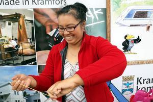 Siriwan Khampoosa gillar att leva miljövänligt. Hon både källsorterar och försöker att inte äta så mycket kött.