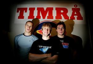 Här har ni den – superkedjan som skulle lyfta Timrå IK till toppen av Elitserien 2006/07. Jonathan Hedström, Timo Pärssinen  och Riku Hahl bildade en formation som det snackdes mycket om på förhand.