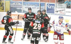 TREAN. Mikael Zettergren ökar på till 3–1 för Mora.