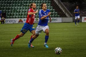 Sebastian Rajalakso fick debutera mot Öster.