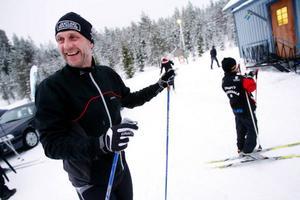 Bert-Ola Bångman tycker att Byakampen är ett bra initiativ, bland annat för att han slipper åka ensam i spåret.