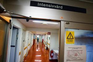 Intensivvårdsavdelningen på sjukhuset.