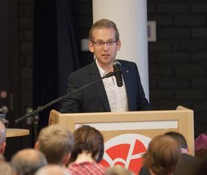 RÄCKTE INTE HELA VÄGEN. Alexander Lindholm hade starkt stöd från fackrörelsen. Men det räckte inte hela vägen fram till en plats som kommunalråd.