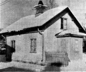 Västerås första egnahem. Kallades Kappen. Det var 1886 och fastigheten låg i hörnet Langenbergsgatan-Föreningsgatan på Norrmalm.