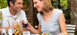 Att äta tillsammans kan stärka ens kärleksrelation