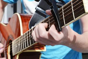 Musikerna gör flera spelningar per dag.
