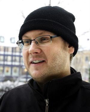 Robert Jansson, 34 år, systemutvecklare, Ånge.– Nej, men det brukar jag inte vara heller. Vi har lite olika tomtar i min familj.