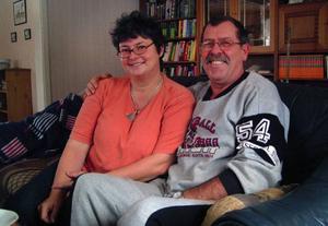 Sabine och Karl-Heinz Kierblewski har kommit från staden Ludwigslust i Mecklenburg för att slå sig ner i Sörbygden.