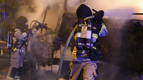 Bränder. Under natten till tisdag fick polisen larm om två bränder, båda i Norberg. Bilden är tagen vid ett annat tillfälle.