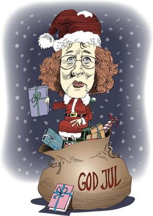 God jul!Illustration: Kjell Nilsson-Mäki