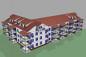 Så här kan HSB:s nya bostadsrättshus se ut, men än är inget spikat.