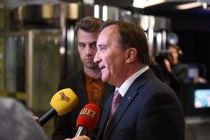 Socialdemokraternas partiledare Stefan Löfven,
