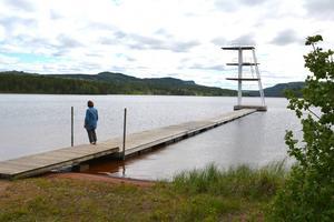 Margareta Bohlin och Rot-Holens byamän har vigt en stor del av sin tid åt Nässjön, men har nu tröttnat.