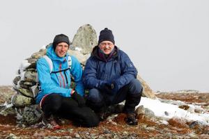Mattias Skantz och Carl Wiström har bestigit Jämtlands  alla fjälltoppar.