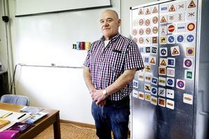 Dags för förändring? Enligt Torbjörn Nilsson på Windahls trafikskola i Örebro vill många ha paketpris.Foto: Daniel Patiño Flor