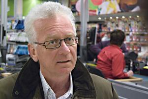 Anders Stake, nöjd vd för Konsum Gävleborg.
