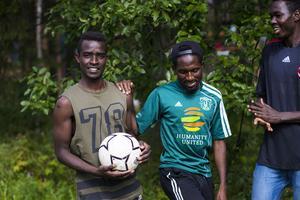 Mahamoud Annour, Moubarak Ahmed och Bichara Abderaman åker till London nästa vecka för att delta i World Unity Cup.