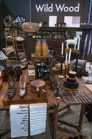 Vilt och vackert. Vild och vacker inredningstrend som på Formexmässan fått namnet Wild Wood.