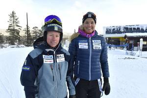 Sandra Näslund och Anna Holmlund