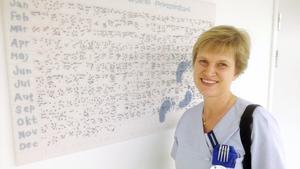 Barnmorskan Catarina Lagerby är glad över att barnmorskorna ska få bättre betalt.