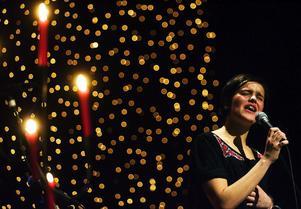Vacker sång och musik framfördes av Mathilda Åström och Kalle Gunnarsson inför stipendieutdelningen.