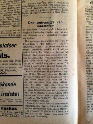 Bärgslagsposten den 28:e april 1925