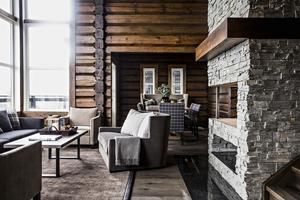 Villan i Åre som var mest klickad har sju rum, fyra  badrum, bastu, relax och ett loft. Byggår: 2016.