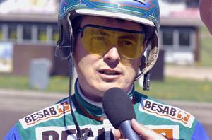 Bo Landgren var tillbaka i sulkyn direkt efter olyckan och mådde på tisdagen bra.