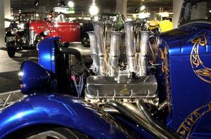 Ombyggda bilar. Swedish Hot Rod Association deltar under Classic Car Week. Foto:SCANPIX.