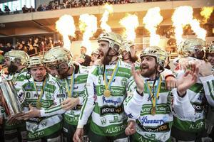 Mesta mästarna VSK har vunnit två raka SM-guld. Står på Tele2 Arena igen i mars?