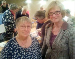 Kirsti Kokkonen Södergren och Monika Hedman kunde nöjt konstatera att intresset för den nordiska litteraturen är stort.