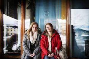 Lovisa Dahlberg och Elin Ölmerud är Ellinores  systrar.