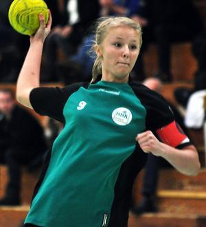 Molly Bergqvist nätade fyra gånger förgäves.