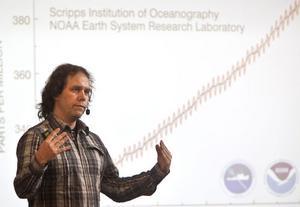 Pär Holmgren är känd meteorolog och har ett stort engagemang i klimatfrågan.