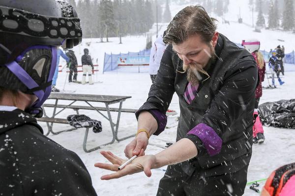 Stefan Karlsson trollade bort en penna.
