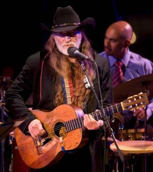 Countrysångaren Willie Nelson uppträder på the Allen Room, Home of Jazz på Lincoln Center.Foto: Stephen Chernin/AP/Scanpix