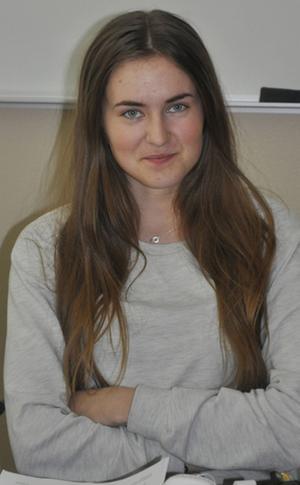 Tilda Hylander, 17, Ljusdal:– Det enda jag kan komma på just nu är godis.