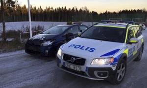 Två olyckor har inträffat i närheten av sjukhuset under måndagen.