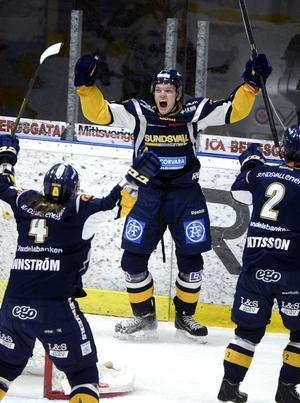 2–1-målet gav tre poäng. Det var Alexander Selin som gjorde det när Sundsvall Hockey vann mot Piteå på hemmaisen.