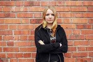 Klara Boie i bandet Svartborg.