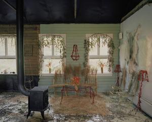 Inredning. Interior Autumn 1 är en av bilderna i Lina Jaros utställning som på lördag öppnar på Kaz Galleri.