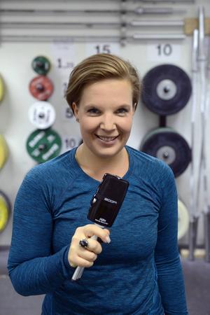 Jennie Zetterqvist gör träningspodden Sundsvall svettas.