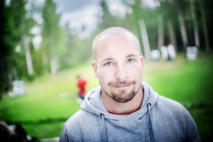 Richard Bergqvist är en av ledarna för Summer fun junior.