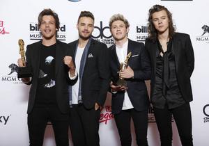 Louis Tomlinson, Liam Payne, Niall Horan och Harry Styles.